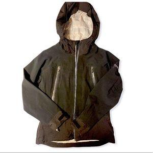 Columbia titanium soft shell ski rain jacket black